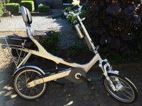 Danny Vermeulen bouwde zijn eigen comfortabele elektrische fiets