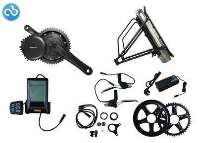 Ombouwset Middenmotor Bafang BBS01 36V (468Wh) Bagagerek