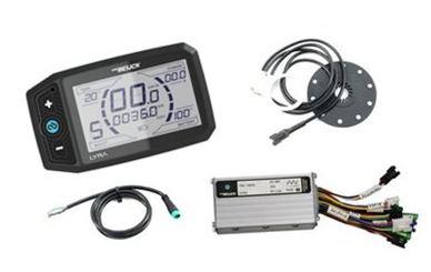 Controller reparatie kit LCD inclusief motor met velg