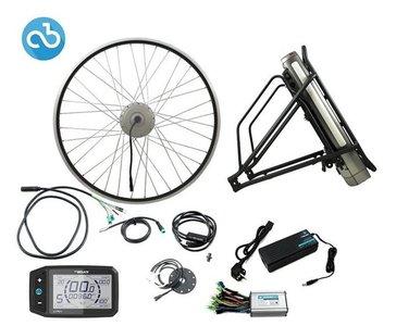ombouwset elektrische fiets trapondersteuning
